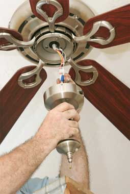 wiring ceiling fan NJ